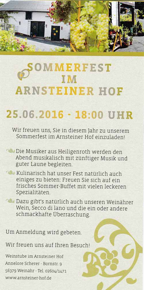 Arnsteinerhof