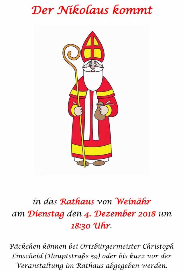 Nikolaus Weinähr 2018